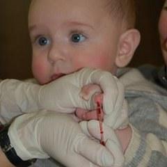 Сдать анализ крови ребенку до года