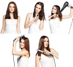 С помощью чего можно выпрямить волосы