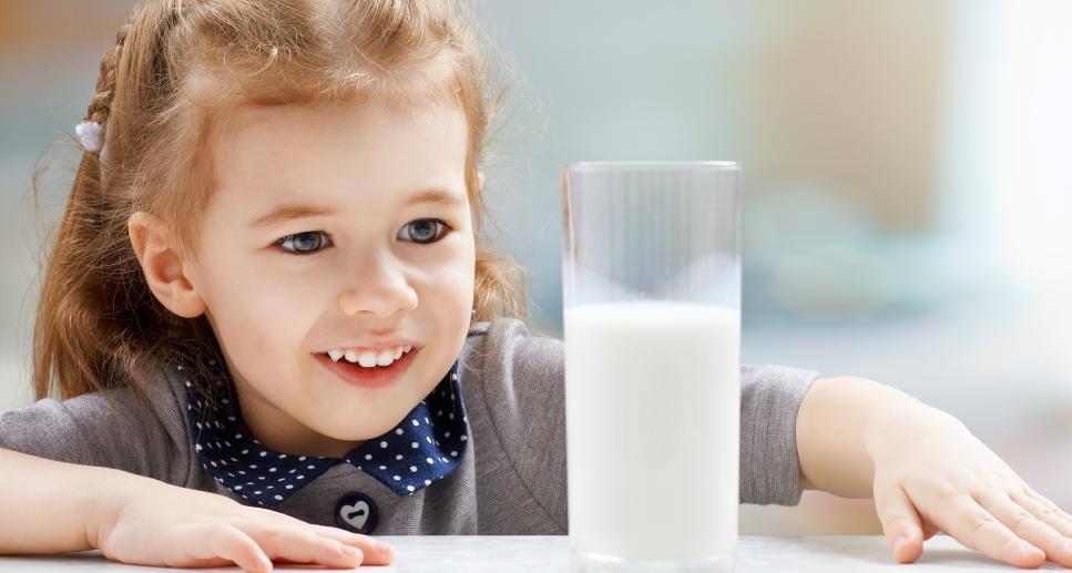 Кальций для малышей: рекомендуемые продукты питания