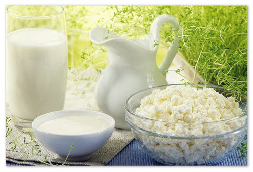 Прикорм кисломолочными продуктами