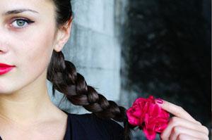 Как заплести классическую русскую косу
