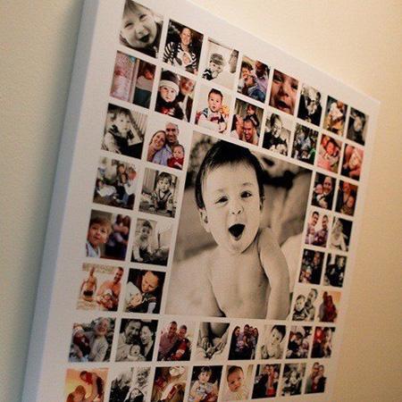 Коллаж из фото ребенку своими руками на 3 года