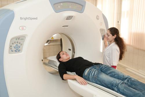 Компьютерное томографичекое исследование