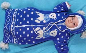 Конверты для новорожденных осень зима