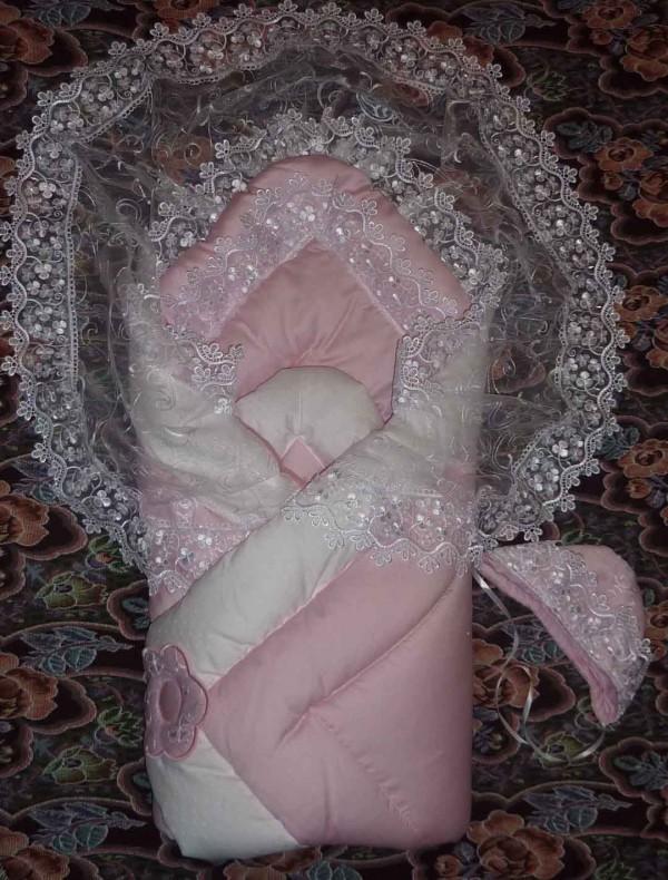 Уголок кружевной для грудных детей своими руками