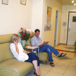 Коридор в клинике Евромедс