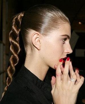 Как заплести косу из жгутов