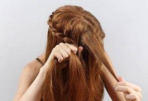 Косы хиппи для волос до плеч