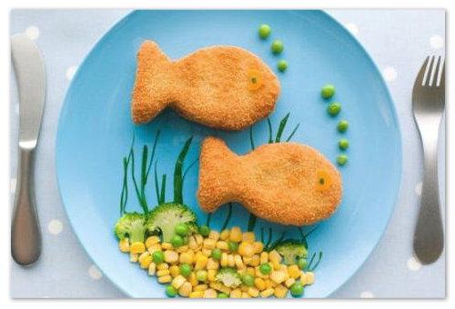 Рыбные котлетки