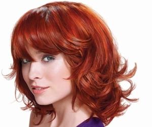 Красивая стрижка на средние волосы