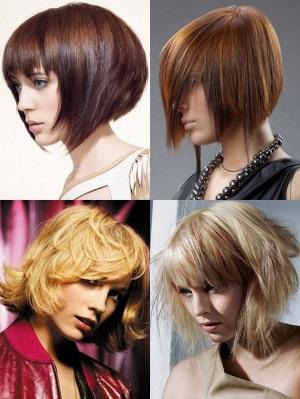 Креатив на средние волосы