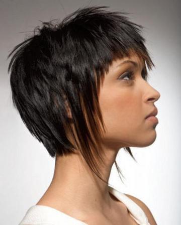 креативные стрижки на средний волос
