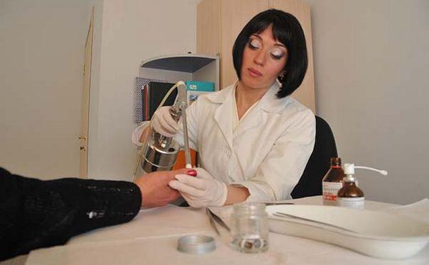 лечение азотом