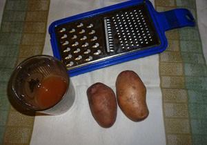 Лечение гастрита соком из картошки