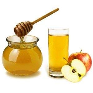 Яблочный сок с медом