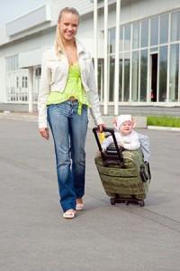Путешествие с ребенком до года в автомобиле