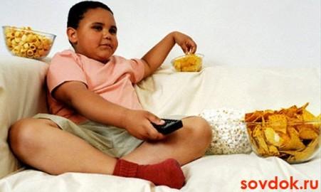 мальчик с ожирением