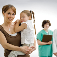 Маленькие девочки у гинеколога