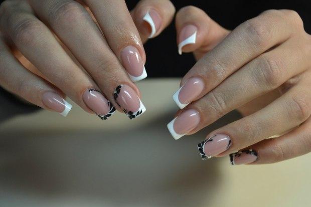 фото ногтей с рисунками френч новинки 2016