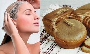 Маска для жирных волос из хлеба