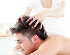 массаж головы мужчине