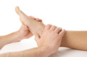 массируем ноги