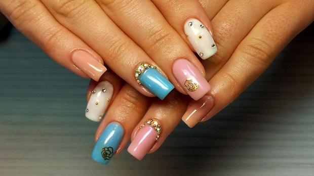 Фото красивых дизайнов шеллака ногтей