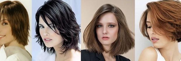 модні стрижки на середнє волосся 2016 фото
