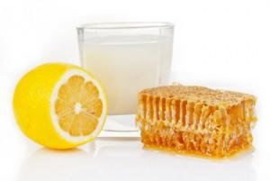 Молоко с мёдом и лимоном
