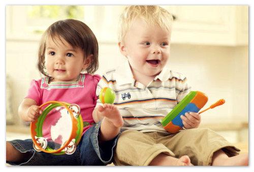 Музыкальные занятия для детей от 2х до 3х лет
