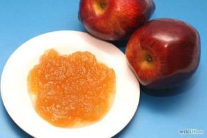яблоки, яблочное пюре