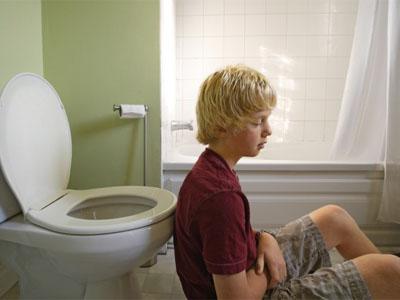 туалет, ребенок, боль в животе