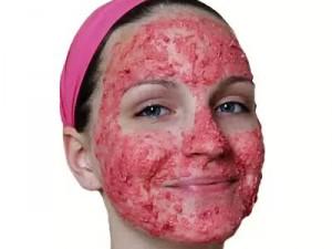 клубничная маска