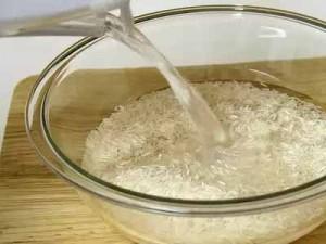 замачивание риса
