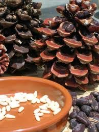 кедровые шишки, орехи