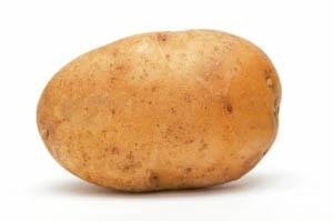 картофель, сваренный в кожуре