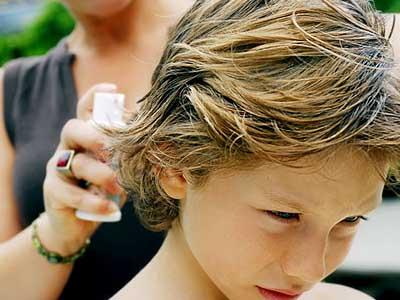 обработка волос от педикулеза