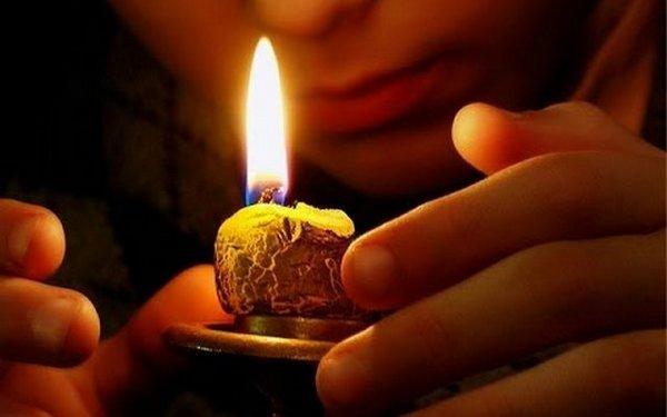 обряд на свечу