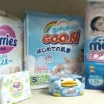Одноразовые подгузники от японских производителей