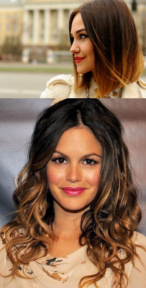 Окрашивание волос балаяж в зависимости от длины