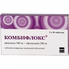 Комбифлокс - аналог Олететрина