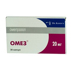 Капсулы Омез 20 мг