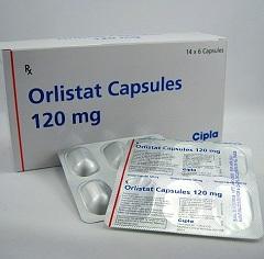 Капсулы Орлистат в дозировке 120 мг