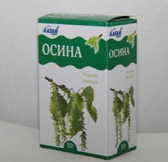 Осина - противомикробное средство
