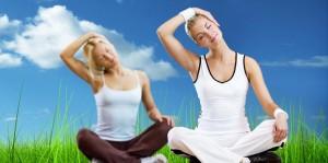 йога и свежий воздух