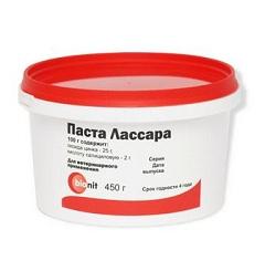 Активные компоненты Пасты Лассара - окись цинка и салициловая кислота