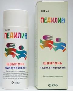 Педикулицидный шампунь Педилин