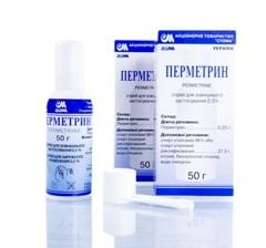 Перметрин – аналог Педилина