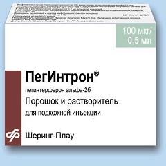 Иммуностимулятор Пегинтрон