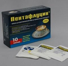 Жаропонижающее средство Пентафлуцин
